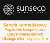 Link do Sunseco.pl - firma informatyczna: Odzyskiwanie danych i obsługa firm